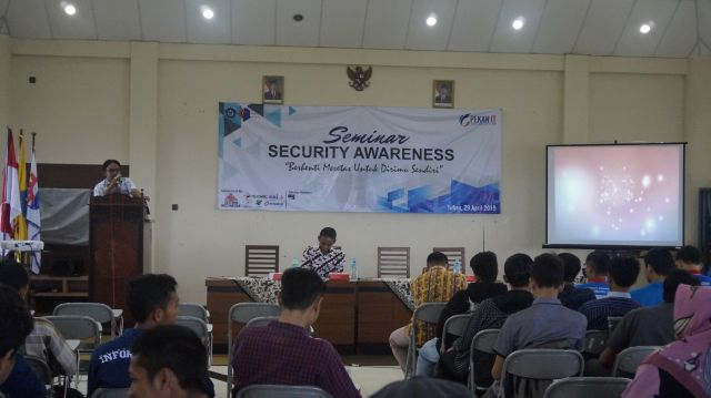 Pembukaan Pekan IT 2019 & Seminar Security Awareness